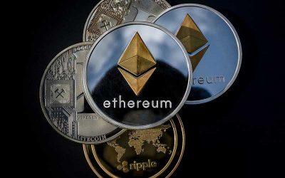 Ethereum ETH blir grønn